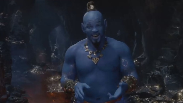 First look at Will Smith's Genie in new 'Aladdin' trailer