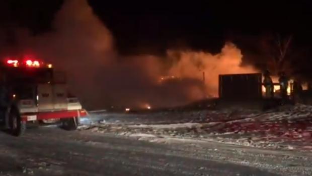 Fire in Belle Plaine