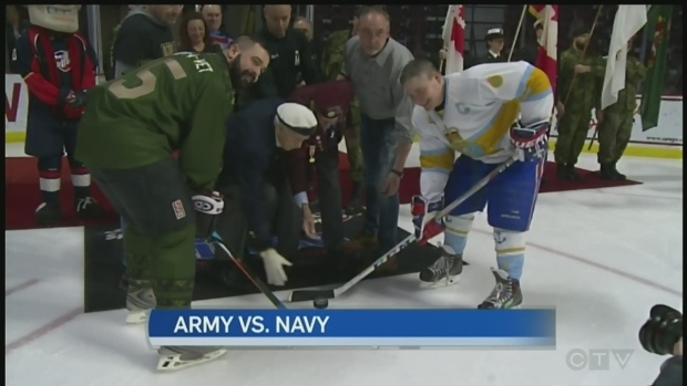 Army and Navy face off for a good cause