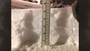 Courtenay snow