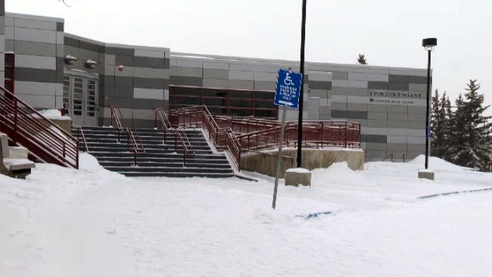 J. Percy Page High School in Edmonton.