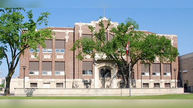 John Pritchard School is pictured. (Source: River East Transcona School Division.)