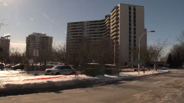 A man in his thirties was shot on Havre des Iles in Laval on Feb. 11