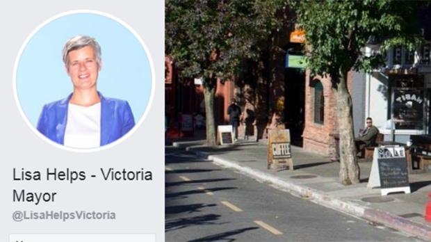 Lisa Helps fake Facebook account