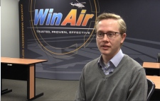 Kyle Vergeer, WinAir managing director