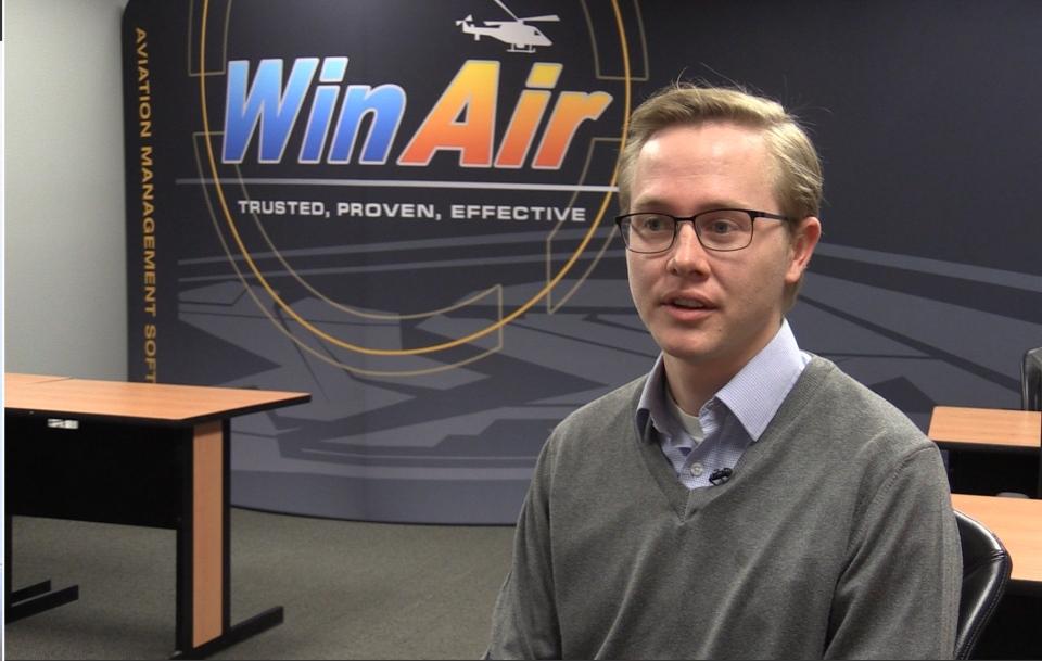 Kyle Vergeer, WinAir managing director
