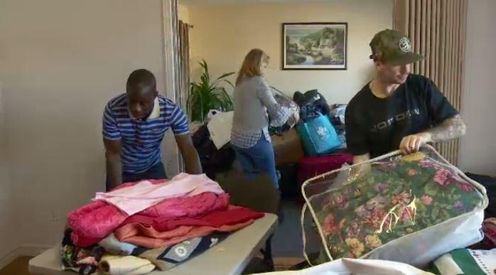 Non-profit group Carrefour Mousseau is helping take in donations for victims of the fire.