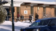 Students return to class after swatting threat
