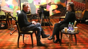 Sting speaks to CTV News Chief Anchor and Senior Editor Lisa LaFlamme on Monday, Feb. 11, 2019.