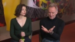 Sting and Frances McNamee
