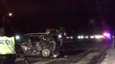 Highway 400 collision