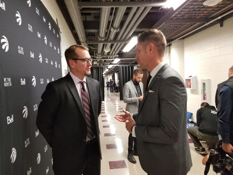 He was an 'underdog for a very long time,' Raptors coach Nick Nurse told W5's Peter Akman.