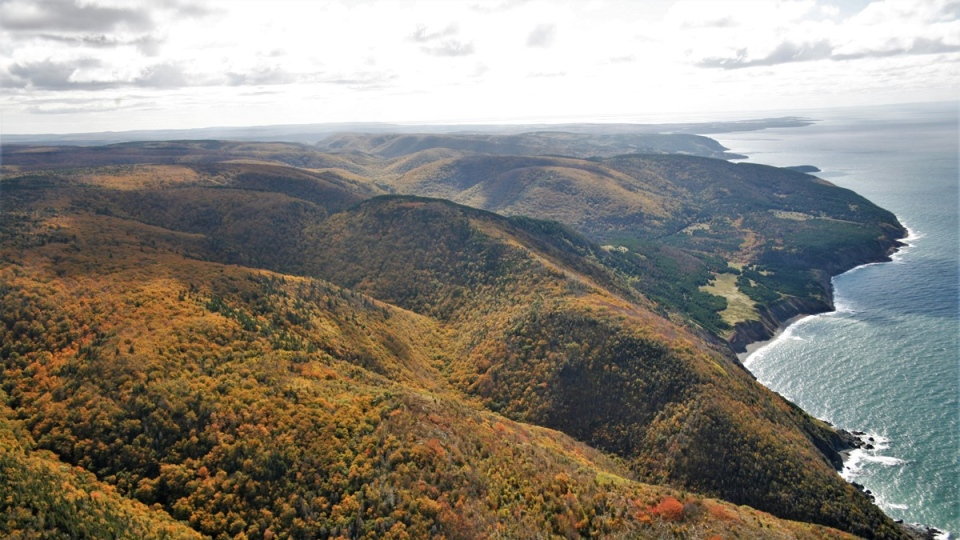 The Mabou Highlands in Nova Scotia is seen in this undated handout photo.  (THE CANADIAN PRESS/HO, Len Wagg, Nova Scotia Nature Trust)