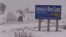 Along Ontario's West Coast it was nothing but