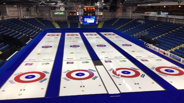Preparations are in full swing at Sydney's Centre 200 for the 2019 Scotties Tournament of Hearts.
