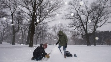 snow day toronto