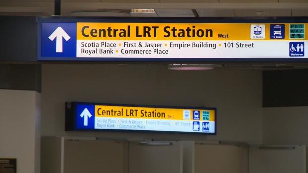 Central LRT station