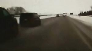 Road rage caught on camera