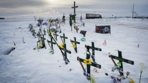 The second anniversary of a devastating Saskatchewan bus crash will be a quiet one for the still-mourning families as the COVID-19 crisis holds the country in its grip. (File)