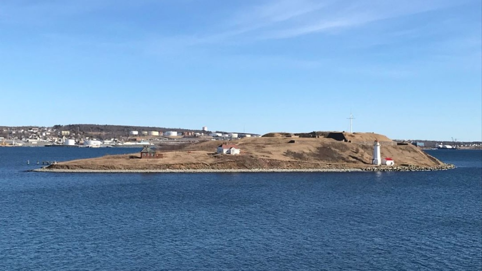 The iconic and historic Georges Island may soon be one of the newest tourist attractions in the Halifax region. (Natasha Pace / CTV Atlantic)