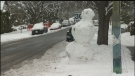 Sawatsky Sign-Off- Giant Snowman