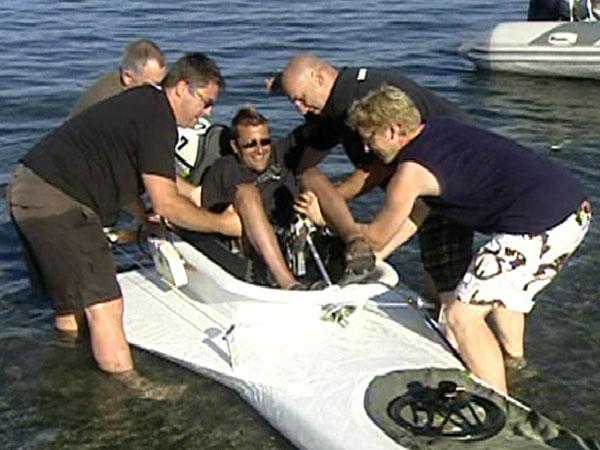 quadriplegic will make history in bathtub race   ctv news