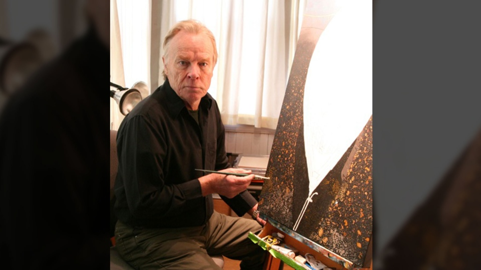 The bill to create a new parliamentary visual artist laureate died in the Commons late last year, but that hasn't stopped Nova Scotian Peter Gough from pushing to see it revived, even as he undergoes cancer treatment. (Photo courtesy Peter Gough)