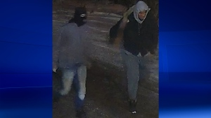 Police are looking for two arson suspects following three fires that were deliberately set on Saturday Jan. 5, 2019