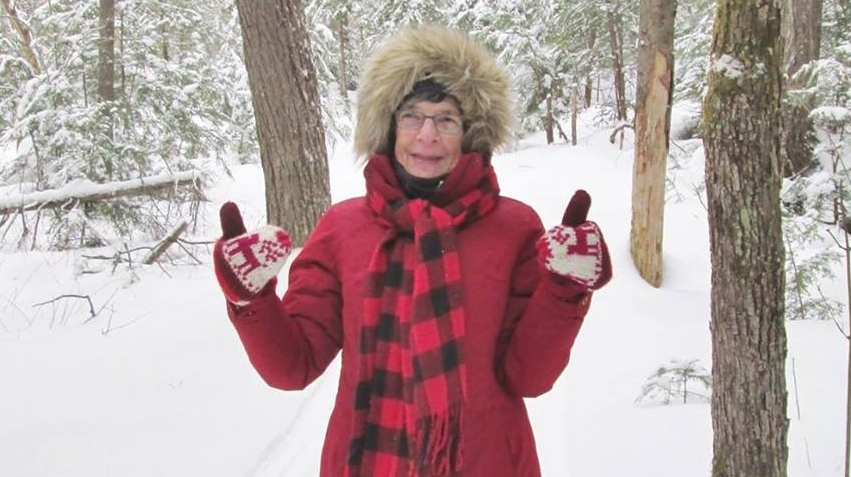 Retired Toronto librarian Mora Ann Gregg, 75, wasn't worried about the late fee because she joked she could could talk her way out of it. (Mora Ann Gregg/Facebook)