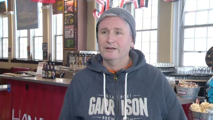 """It's a great building, (built in) 1937, so there's really good bones to it,"" Garrison Brewing president Brian Titus said of the old Oxford Theatre. ""I'm a sucker for an old building and I really think that area could use sort of a local watering place, a bit of a social house, so that's what the idea is."""