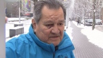 Bill Wilson, father of Vancouver Granville MP Jody Wilson-Raybould, speaks to CTV News in downtown Vancouver on Tuesday, Feb. 12, 2019.