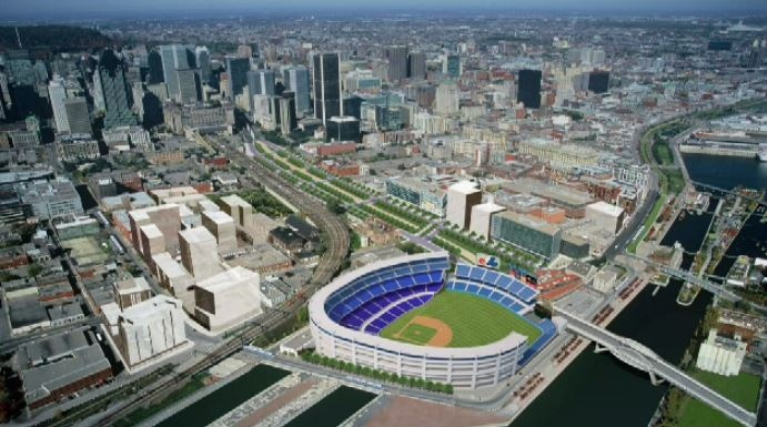 In the ongoing bid to try and bring a Major League Baseball team back to Montreal, the Peel Basin has been chosen as the site for a future stadium.