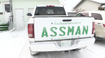 Assman finds solution to license plate woes