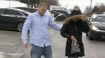 Convicted man walks free