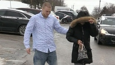 Convicted man walks free