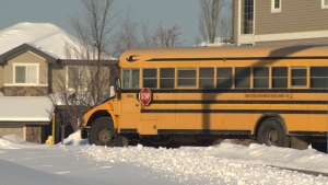Poor weather and road conditions have meant some students in northern Alberta have fallen behind in their curriculum.