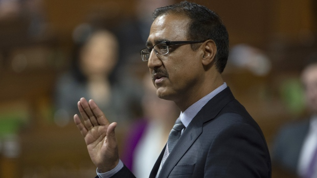 Natural Resources Minister Amarjeet Sohi