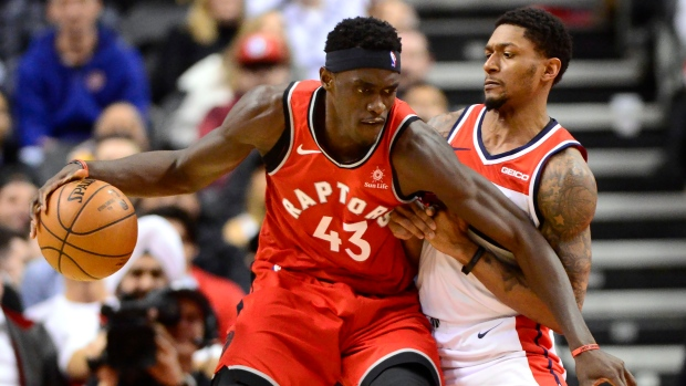 new style 7056a 82df4 Siakam, Anunoby lead Raptors past Wizards with Leonard ...