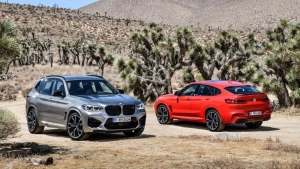The BMW X3 M and BMW X4 M (Courtesy of BMW)