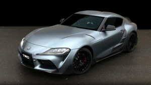 Toyota unveils TRD-treated 2020 Supra. (TRD)