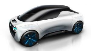 Honda's Tomo EV, a concept model designed by graduate students from the IED. (Istituto Europeo di Design, Honda Design)