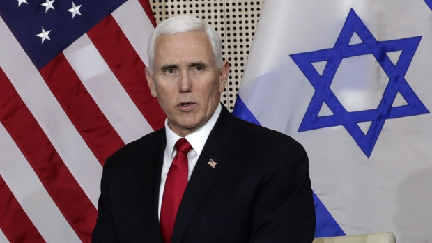U.S. Vice President Mike Pence in Warsaw