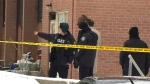 Shooting outside Rexdale townhouse