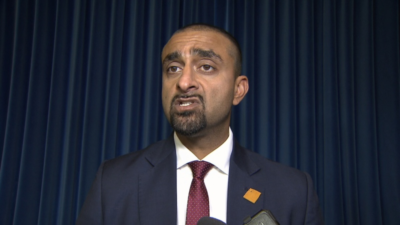 NDP MLA Ravi Kahlon is seen in a CTV News file image from February 2019.