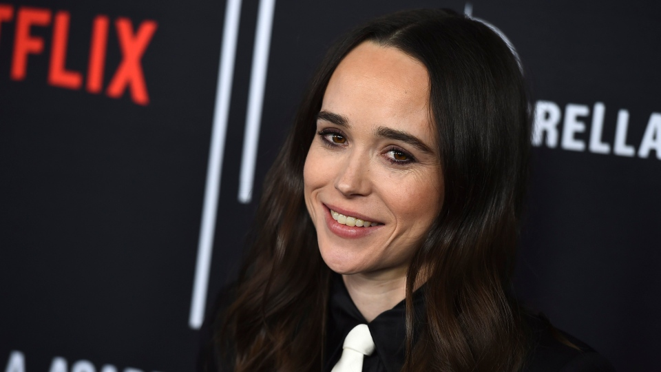 Cast member Ellen Page arrives at the Los Angeles premiere of