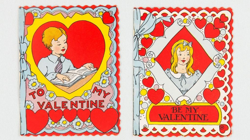 19th century Valentine's Day cards on display in Toronto | CTV News