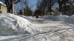 N.B. still digging out from storm