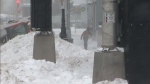 Some are wondering why only some government workers get the day off during a winter storm.