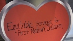 Large crowd shows up for 'Have a Heart Day' to raise awareness of educational needs of First Nations children.