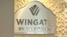 Tom and Michelle Straschnitzki say they have been trying to work out a billing dispute with the manager of the Wingate Hotel in Airdrie for months.